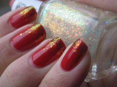 Zoya Sookie with Essie's Shine of the Times