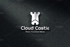 Cloud Castle - Logo Template by Martin-Jamez on @creativemarket