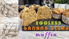 Egg Free Banana Bread Muffin   Perfect For Lunch Box   Dairy Free - YouTube Banana Bread Muffins, Free Youtube, Egg Free, Cravings, Dairy Free, Lunch Box, Channel, Eggs, Breakfast