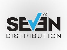 Seven Distribution Logo by Abinash Mohanty 7 Logo, Logo Branding, Branding Design, Logo Design, Logo Inspiration, Speed Art, Typography Design, Stationery, Writing