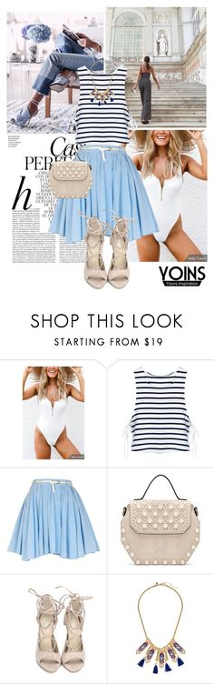 """YOINS"" by ivonce ❤ liked on Polyvore featuring Dollhouse, Whiteley, River Island, Rebecca Minkoff, yoins, yoinscollection and loveyoins"