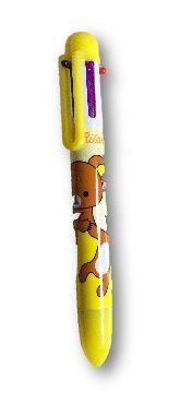 Multi color (6) Rilakkuma pen geel