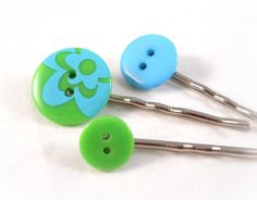 Hey, I found this really awesome Etsy listing at https://www.etsy.com/listing/85371724/button-bobby-pins-set-cute-hair