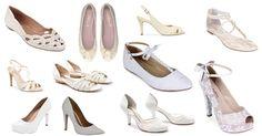 Saiba como escolher o sapato da noiva! Veja no blog: www.revistanovasnoivas.blogspot.com