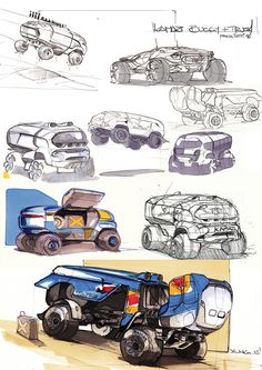 Daily caraboutcha! on Behance