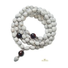 108 Jobs Tear's beads and faceted 8mm round agate by StoryandMyth