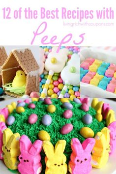 In terms of Easter candy I have to think there are none as iconic as Peeps.  These would make the perfect dessert after an Easter Sunday meal & we've got tons of adorable options for you! Take a look12 of the Best Recipes with Peeps #peepsrecipes #easterdessert