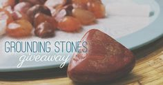 enter to win a grounding gemstone and crystal set!