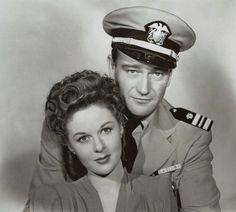John Wayne & Susan Hayward - The Fighting Seabees(1943)~