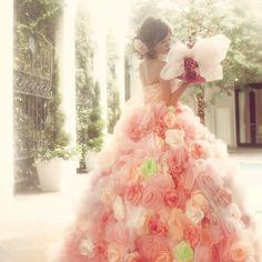 最強可愛いピンク色カラードレスのおすすめブランド4選   marry[マリー]