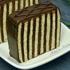 Sweets Recipes, Cooking Recipes, Bun Cake, Sweet Cakes, Party Cakes, Tiramisu, Goodies, Pudding, Ethnic Recipes
