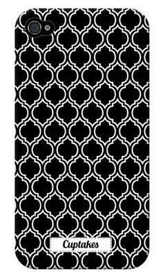 black motif iPhone case...cuptakes $34.99