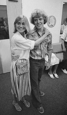 never seen pictures of the brady bunch | Taken backstage during the Brady Bunch Hour.