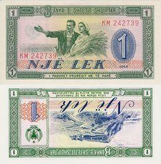 ALBANIA 1 LEKE 1964