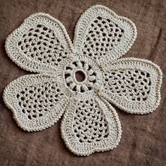 Outstanding Crochet: Irish Crochet Lab: Crochet Flower Pattern is available in out store . Outstanding Crochet: Irish Crochet Lab: Crochet Flower Pattern is available in out store . Irish Crochet Patterns, Crochet Motifs, Crochet Diagram, Freeform Crochet, Thread Crochet, Crochet Designs, Crochet Puff Flower, Crochet Flowers, Crochet Lace