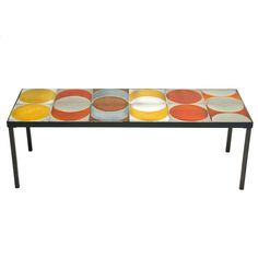 Coffee Table by Roger Capron, c.1960's | From a unique collection of antique and modern coffee and cocktail tables at http://www.1stdibs.com/furniture/tables/coffee-tables-cocktail-tables/
