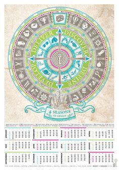 64 best cool creative calendar ideas images on pinterest