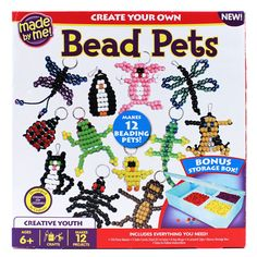 Made by Me™ Bead Pets video adn step by step instructions