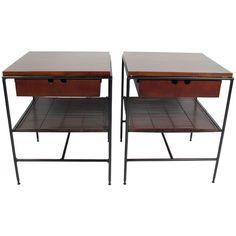Paul McCobb Planner Group Side Tables/Nightstands 1950's