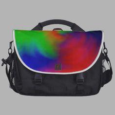 Farbstrudel Notebook Tasche