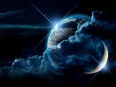 Fond d'écran de la planète, vecteur étoile
