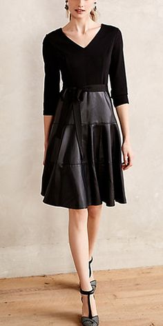 Gorgeous black dress - #anthrofave - 25% off today http://rstyle.me/n/sxfipn2bn