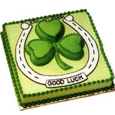 Good LUck (and don't we all need a little of that!!) Whoot!! FUN! Love being part Irish. <3
