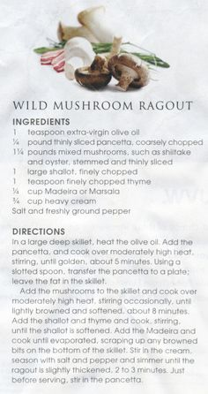 ... Cappelleti | Recipes to try | Pinterest | Wild Mushrooms and Mushrooms