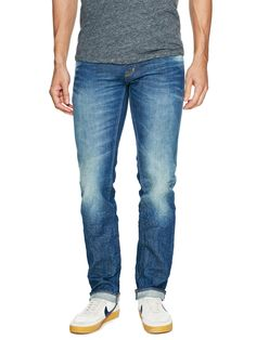 Solid Woven Skinny Denim by PRPS GOODS & CO. at Gilt