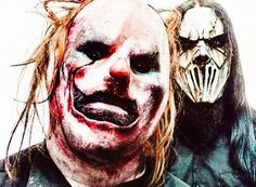 Slipknot Clown and Mick Thompson