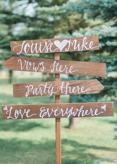 Rustic Colorado Barn Wedding: Mint and Coral wedding, Catherine Hamilton Photography, Orchid Princess Floral, The Barn at Evergreen …rustic wood wedding sign