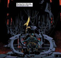 He had finally became the King he always knew he was born to be. #CorvusGlaive #BlackQuadrant #Thanos #JimStarlin #TheMadTitan #MadTitan #SoulGems #InfinityGems #Infinity #InfinityGauntlet #ThanosQuest #InfinityWar #AvengersInfinityWar #InfinityCrusade #InfinityAbyss #TheCabal #Annihilation #ThanosImperative #SecretWars #TheBlackOrder #Marvel #MarvelNOW #MarvelUniverse #MarvelComics #ComicBooks #Comics #JeffLemire #MikeDeodato #MikeDeodatoJr #ComicsDune