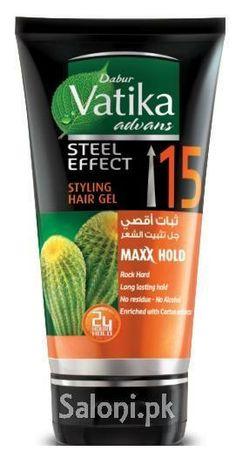 DABUR VATIKA ADVANS STEEL EFFECT STYLING HAIR GEL Saloni™ Health