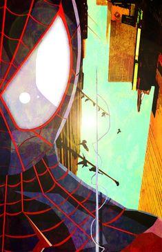 Straw Spider 4: Ultimate Spider-Man Miles Morales by skyscraper48.deviantart.com on @deviantART