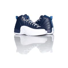 AIR JORDAN RETRO 12 SNEAKER ($110) ❤ liked on Polyvore featuring shoes, sneakers, jordans, retro inspired shoes, retro style shoes, retro trainers, retro sneakers and retro shoes