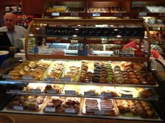 The donut hole bakery cafe has incredible baked Doughnut - and, it is a great place for breakfast.