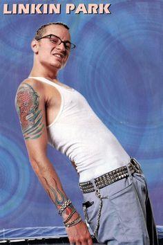 Chester Bennington Brad Delson, Joe Hahn, Rob Bourdon, Linkin Park Chester, Mike Shinoda, Chester Bennington, Beautiful Smile, Rock Music, Cool Bands