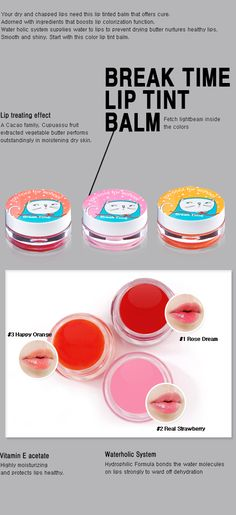 too cool for school Break Time Lip Tint Balm