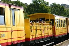El tren groc l'estiu - Turisme Pirineus Orientals
