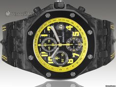 2010 Audemars Piguet AP Offshore Bumblebee Chronograph - 44mm Forged-Carbon Case - SPECIAL LIMITED EDITION