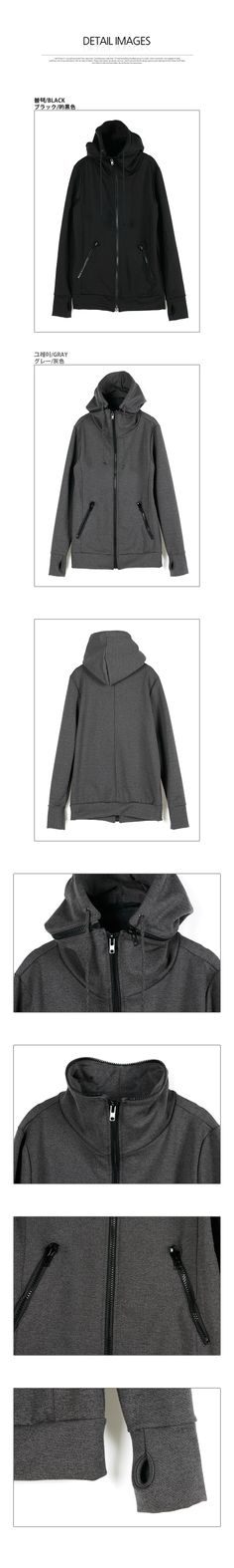 Hooded Zip-Up Jacket - Rememberclick Hoods, Zip Ups, Black Jeans, Clothing, Pants, Jackets, Stuff To Buy, Fashion, Outfit