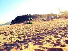 Praia de Geribá - Búzios - Brasil - RJ  Final de tarde, outono 2012. (Foto: Kelly Paiva)
