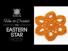 The Eastern Star Motif :: Crochet Stitch #150 :: New Stitch A Day