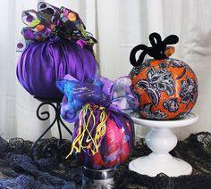 #Pumpkins Galore by #Goodwill home decor expert Merri Cvetan
