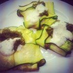 courgette/zucchini ravioli. very low carb. vatkinary.blogspot.co.uk