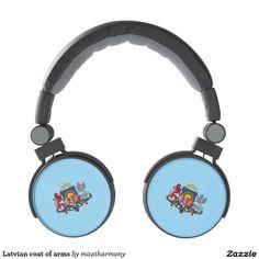Latvian coat of arms headphones
