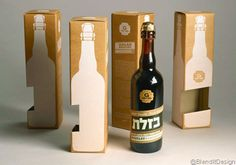 Golan Brewery – Single Bottle Packaging