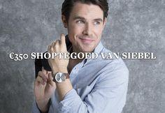 Maak kans op 350 euro shoptegoed bij Siebel Juweliers.