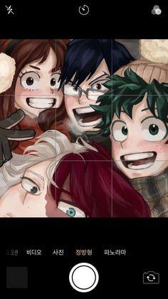 Boku No Hero Academia Funny, My Hero Academia Shouto, My Hero Academia Episodes, Hero Academia Characters, My Hero Academia Tsuyu, Funny Anime Pics, Cute Anime Guys, Fanarts Anime, Anime Films