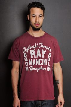 Ray Mancini Youngstown Sun Faded Tee | Roots of Fight
